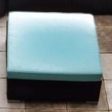 Houghton ottoman with cushion