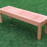 Saligna bench 2 seat in garden