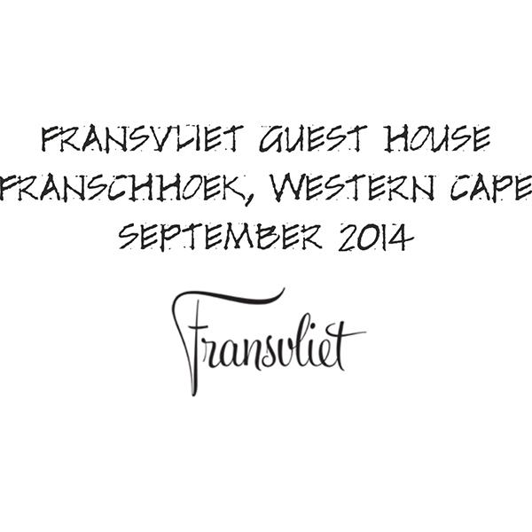 Fransvliet Guest House website front page