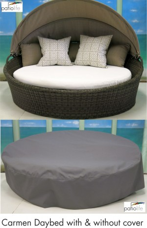Carmen daybed with & without cover