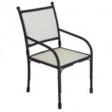 Costswold chair white rattan