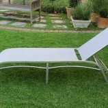 Riversdale lounger silver