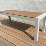 Evaglade two seat bench