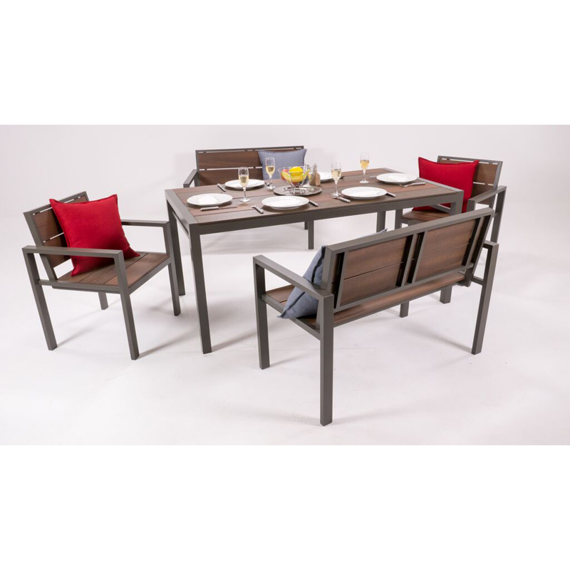 Evaglade 10 seater table patio life for 10 seater table