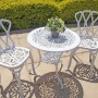 2 Seater Small Balcony side chair, 62cm Table