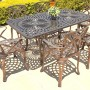 CAL Classic table 85cm x 157cm with Dawn chairs