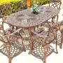Classic 8 seat 85cm x 157cm table + Swish chairs