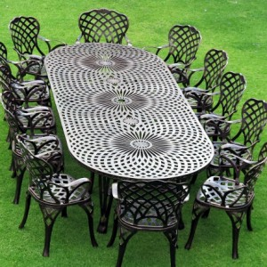 Classic Table Oval 12to14(125cm x 325cm) BS