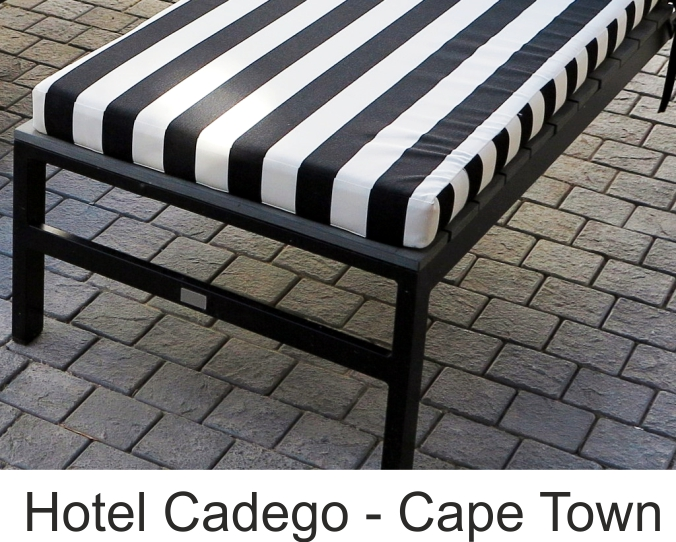 Hotel Cadego front page