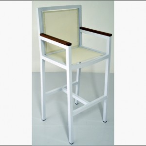 Riversdale Bar chair white