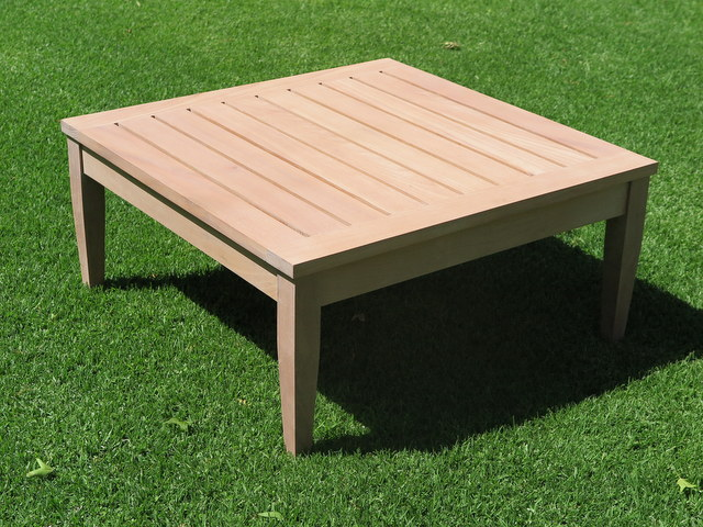 Homestead coffee table patio life for Coffee table 80 x 80