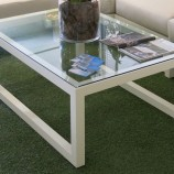 Simola Coffee table parallel legs