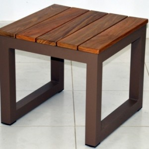 Simola side table kiaat 50x50x45