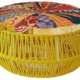 Isihlalo seat yellow cushion