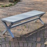 Aluminium Form Bench 180 cms lo res